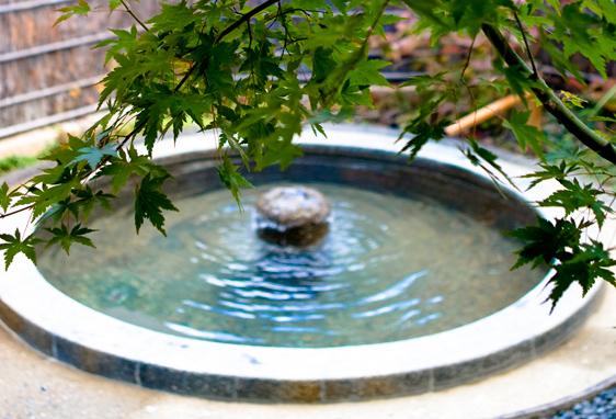 三水館温泉露天風呂